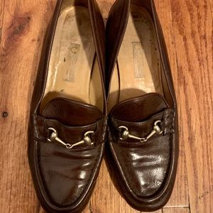 Vintage Gucci loafers in brown 36 or 36.5
